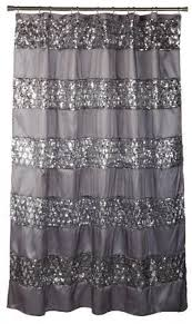 Threshold Ombre Shower Curtain Contemporary Shower Curtains Ebay
