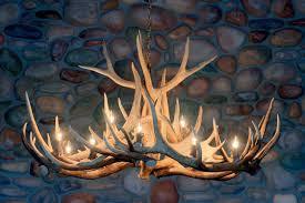 Authentic Antler Chandelier Antler Chandeliers Handcrafted From Real Elk Deer And Moose Antler
