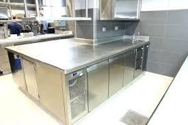 cuisine inox professionnelle plan de cuisine professionnelle plan de travail inox cuisine with