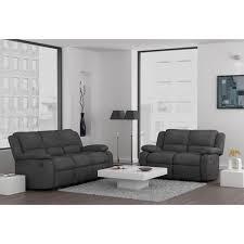 canapé 3 2 places tissu canapé 3 2 places relax meuble et déco