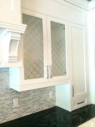 Glass Kitchen Cabinet Door Frameless Glass Kitchen Cabinet Doors S S Frameless Frosted Glass