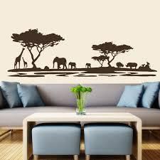 aliexpress com buy safari wall decal vinyl stickers decals home