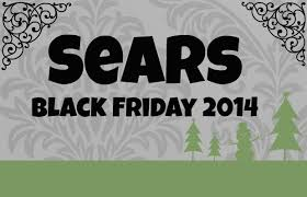 black friday sears 2014 sears black friday sale live now
