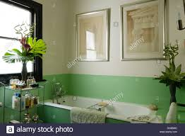 1930 u0027s bathroom fittings with green glass bath panel and
