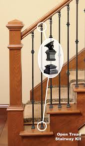 Replacing Banister Installation Wood Stairs
