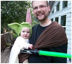 Yoda Halloween Costume Infant Clever U0026 Easy Amazing Babywearing Halloween Costumes Ftw