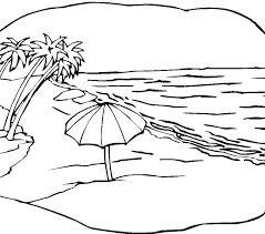 beach coloring pages preschool at the beach coloring pages coloring pages of the beach coloring