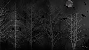 hd halloween wallpapers 1080p winter dreads winter firefox persona birds halloween dark forest