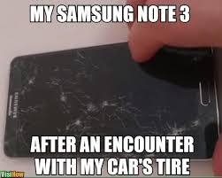 Galaxy Phone Meme - unlock a samsung galaxy note phone when your screen is broken visihow