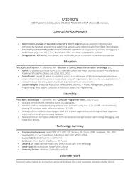 Computer Science Resume No Experience Resume Hcl Pmo Freelance Graphic Designer Sample Entry How To