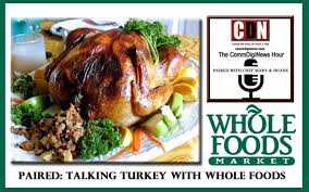 paired guest whole foods experts talking turkey about