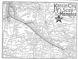 Map Of Kansas City Memphis Railroad Maps