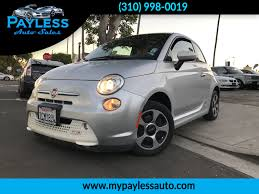 used 2013 fiat 500e battery electric 500e at payless auto sales