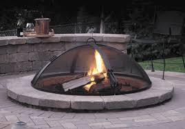 Firepit Grates Aspen Dome Grate Carbon Steel