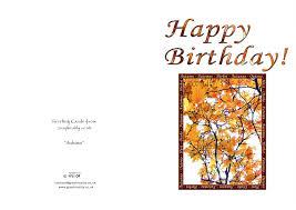 printable birthday cards uk greeting cards printable fall birthday card online greeting cards