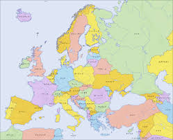 a map of europe with countries file europe countries map ja 2 png wikimedia commons