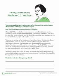 in search of the main idea lesson plan education com