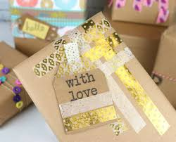 Handmade Gift Wrapping Paper - diy handmade gift wrapping paper id the craft blog