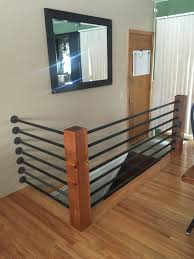Laminate Flooring Around Pipes Diy Banister Floor Flanges And Black Pipe Support Poles Were