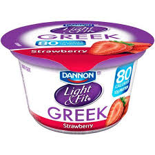 dannon light and fit nutrition dannon light and fit greek strawberry yogurt nutrition facts