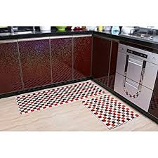 indeedshare kitchen rugs rubber backing decorative non slip