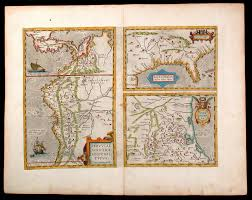 Rare Maps Collection Of The by Peruviae Auriferae Regionis Typus Didaco Mendezio Auctore On