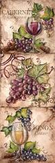Grapes And Wine Home Decor 169 Best Watercolor Grapes Wine Images On Pinterest Paintings