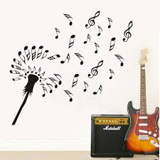 Flower Wall Decals For Nursery by Online Get Cheap Music Note Flower Wall Aliexpress Com Alibaba