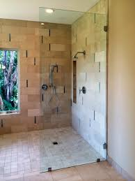Half Shower Doors Shower Shower Door With Half Wall Glass Screens Panels Doors Of