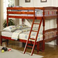 Cherry Bunk Bed Coaster 460222 Corral Cherry Bunk Bed In Myrtle