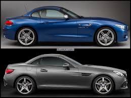 Bmw Z5 Price Image And Spec Comparison Mercedes Benz Slc Class Vs Bmw Z4 E89