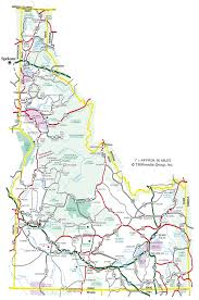 Oregon Idaho Map by Idaho Maps And State Information