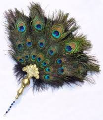 peacock feather fan elizabethan feather fan costumes renaissance