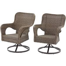 Outdoor Wicker Swivel Chair Better Homes And Gardens Camrose Farmhouse Mix And Match Wicker