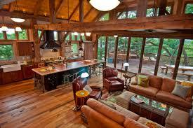 barn frame house in denver colorado traditional living room