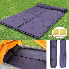 topeakmart comfortable double self inflating air sleeping pad