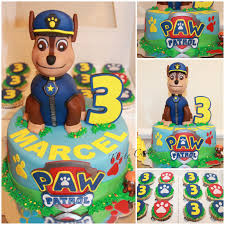 Paw Patrol Cake Decorations Tlite Cakes And Planning Paw Patrol Cake Chase