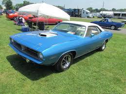 1970 plymouth hemi u0027cuda b5 blue black interior 4 speed on