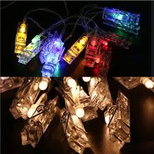 10 mini light string 1m 10 led mini clip string lights battery christmas lights new year