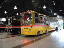 Big Car Garage by A Behind The Scenes Look Inside Team Penske U0027s Massive Nascar