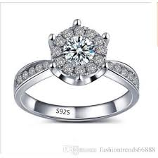 wedding jewelry rings images New elegant engagement ring s 925 ale 52 diamond crystal ring jpg