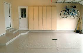 garage floor paint serrated squeegee garage floor before and