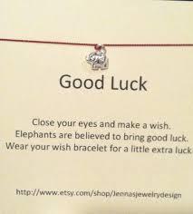 Gud Luck by Elsphant Sterling Silver Wish Bracelet Charm Bracelet Karma