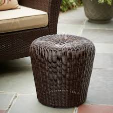 Ty Pennington Furniture Collection by Ty Pennington Style Wicker Stool Limited Availability Outdoor