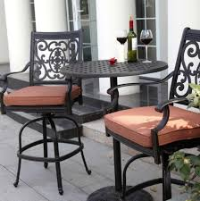 Tall Patio Set by Tall Bistro Patio Set Home Design Ideas