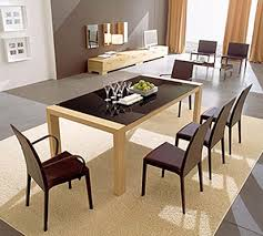 Beautiful Modern Dining Room Table Gallery D House - Types of dining room chairs