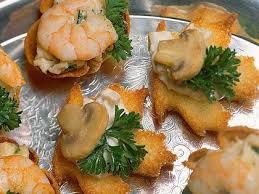 food canapes canapés recipe myrecipes