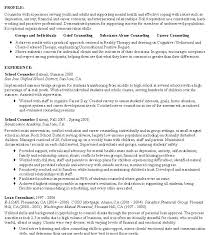 Sample Resume Mental Health Counselor by Innovation Idea Counselor Resume 2 Counselor Resume Sample