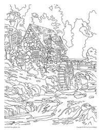 coloring book artists thomas kinkade