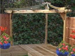 l shaped corner pergola with privacy screens corner pergolas for